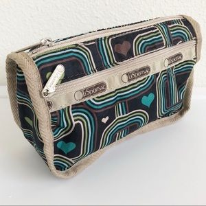 LESPORTSAC Travel Cosmetic Small Pouch